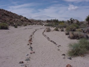 walk in camp site trail